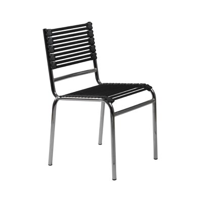 Bungie-S Armless Flat Stacking Chair by Eurostyle