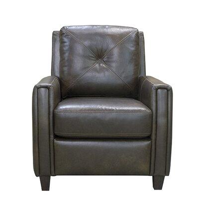 Topeka Leather Club Chair by Coja