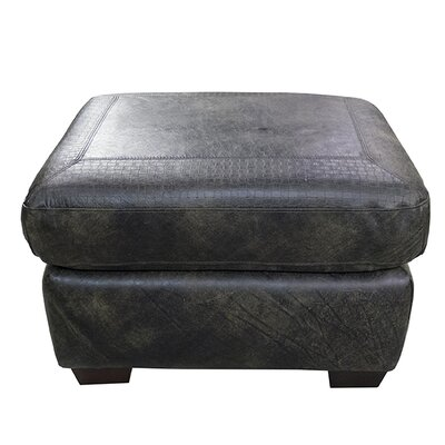 Boise Leather Ottoman by Coja