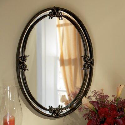 "Quoizel Duchess 30"" H x 24"" W Wall Mirror"