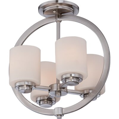 Celestial 4 Light Semi-Flush Mount Product Photo
