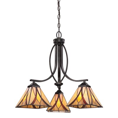 Asheville 3 Light Chandelier Product Photo