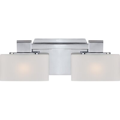Uptown 3rd Ave 2 Light Bath Vanity Light Product Photo