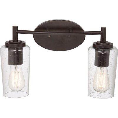 Edison 2 Light Bath Vanity Light Product Photo