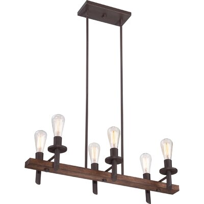 Tavern Island Chandelier with 6 Lights Product Photo