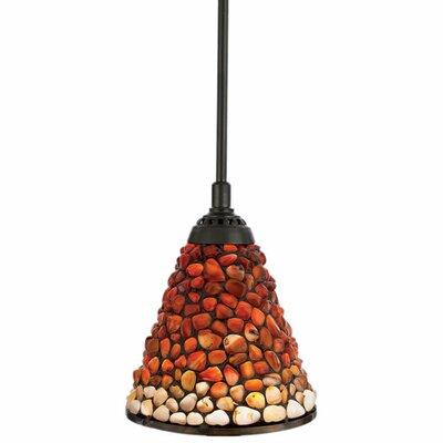 Quoizel Pomez 1 Light Tiffany Piccolo Pendant