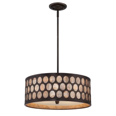 Ariella 4 Light Pendant by Quoizel