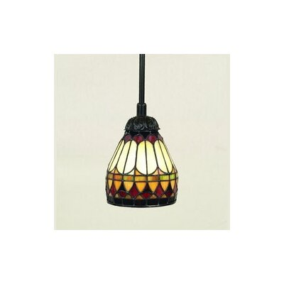West End 1 Light Tiffany Piccolo Pendant by Quoizel