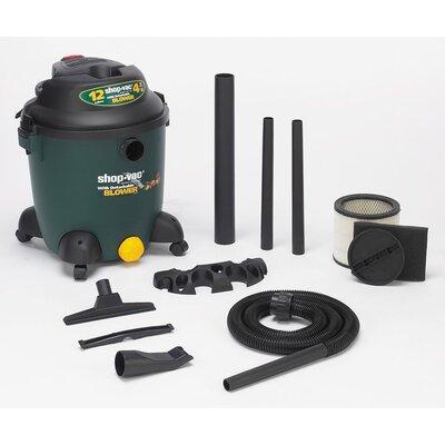 Shop-Vac 12 Gallon 4.5 Peak HP Detachable Blower Wet / Dry Vacuum