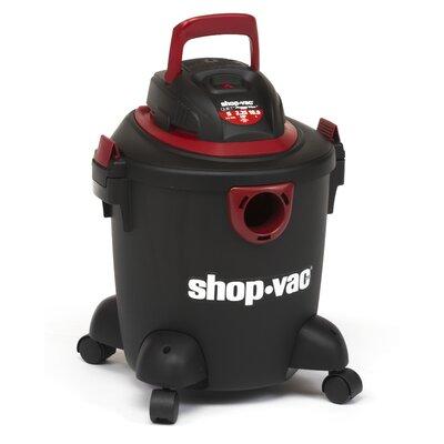 Shop-Vac Quiet Plus 5 Gallon 2.25 Peak HP Wet / Dry Vacuum