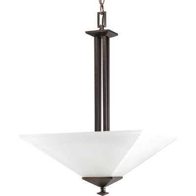 North Park Inverted Pendant in Venetian Bronze by Progress Lighting