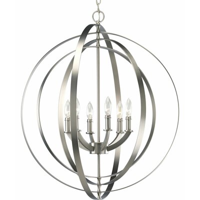 Equinox 6 Light Large Foyer Pendant Product Photo