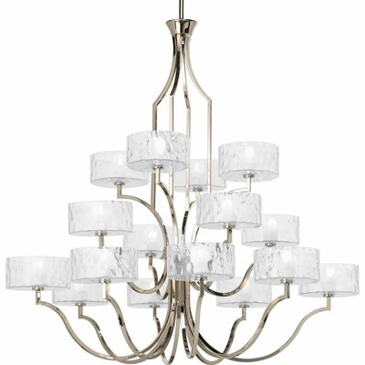 Caress 16 Light Mini Chandelier Product Photo