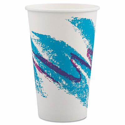Solo Cups Jazz 16 oz. Hot Paper Cups