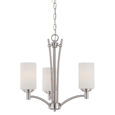 Pittman 3 Light Chandelier Product Photo