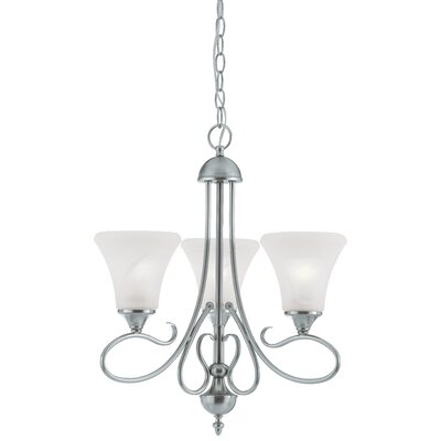 Elipse 3 Light Chandelier Product Photo