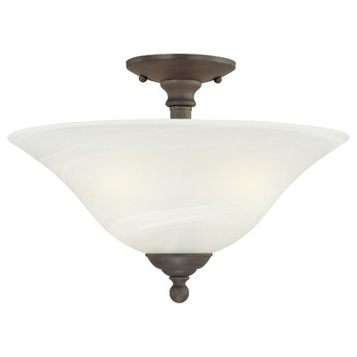 Riva 3 Light Semi Flush Mount Product Photo