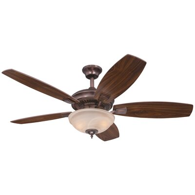 """52"""" Tulsa 5 Reversible Blade Ceiling Fan Product Photo"""