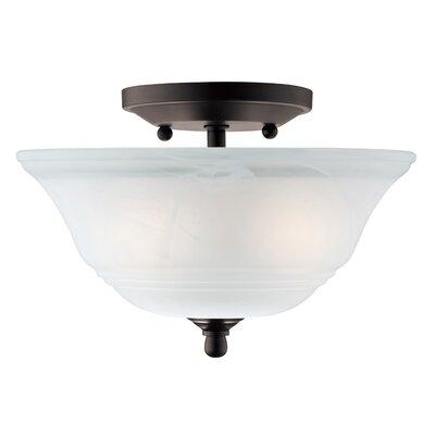 Wensley 2 Light Semi-Flush Mount Product Photo