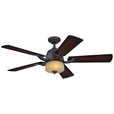 "52"" Ripley 5 Blade Indoor Ceiling Fan Product Photo"