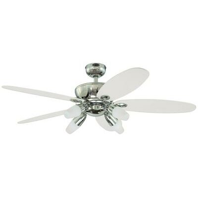 "52"" Panorama 5 Reversible Blade Ceiling Fan Product Photo"