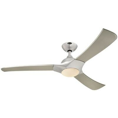 """52"""" Techno 3 Blade Ceiling Fan with Remote Control Product Photo"""