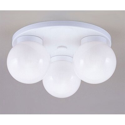 Westinghouse Lighting 3 Light Semi Flush Mount