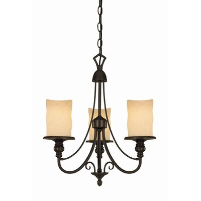 Hearthstone 3 Light Chandelier by Westinghouse Lighting