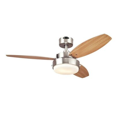 42 Alloy 3 Blade Ceiling Fan Product Photo