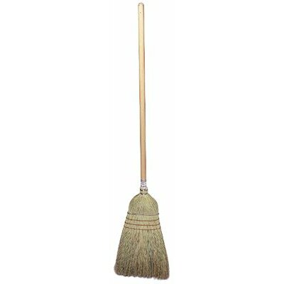 "Weiler Upright & Whisk Brooms - Upright Broom Corn & Fiber Fill 57"" o.a.l."
