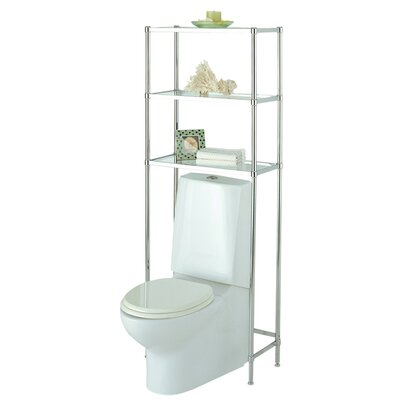Glacier Bathroom Toilet Shelf by OIA