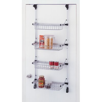 OIA Overdoor 4 Tier Basket Unit
