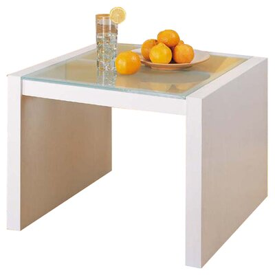 Dawn Coffee Table with Glass Top by OIA