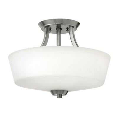 Hinkley Lighting Darien 3 Light Semi Flush Mount