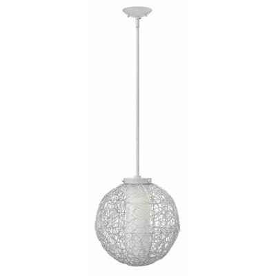 Spago 1 Light Globe Pendant by Hinkley Lighting