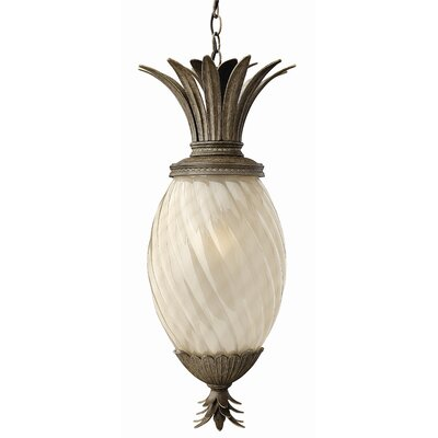 Hinkley Lighting Plantation 1 Light Outdoor Hanging Pendant