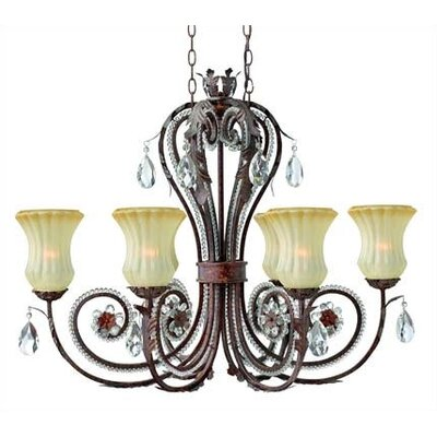 Hinkley Lighting Rosetti 6 Light Chandelier
