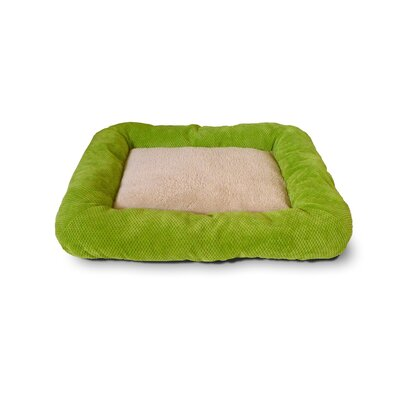 Cute as a Button Low Bumper Crate Donut Dog Bed by Precision Pet