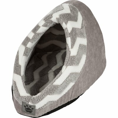Snoozzy Hip as a Zig Zag Hide and Seek Bed by Precision Pet