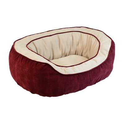 Chevron Gusset Daydreamer Pet Bed by Precision Pet