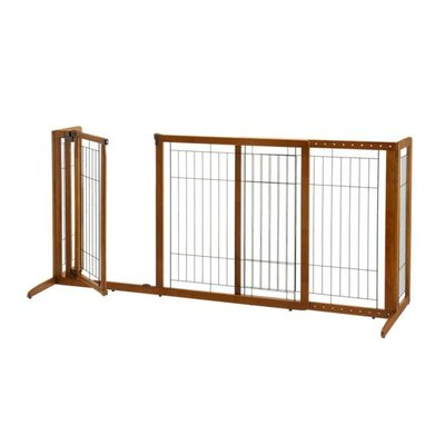 Deluxe Freestanding Pet Gate by Richell