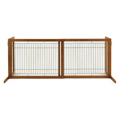 Free Standing 2 Panel Pet Gate by Richell