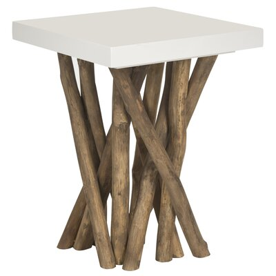 Fox Hartwick End Table by Safavieh
