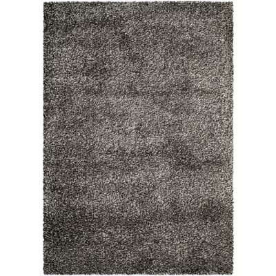 Safavieh new york shag dark grey solid area rug reviews for Area rugs new york