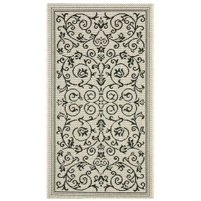 Courtyard All Over Vine Outdoor Rug by Safavieh