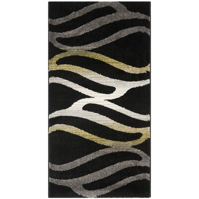 Porcello Black Area Rug by Safavieh