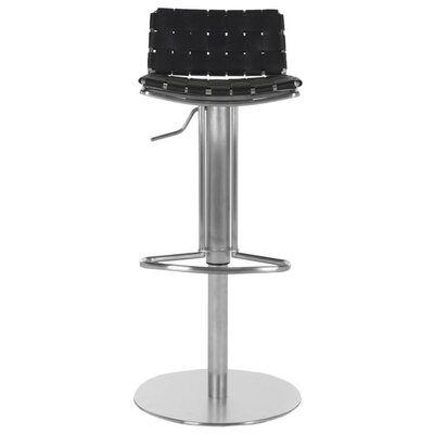 Safavieh Liam Adjustable Height Bar Stool with Cushion