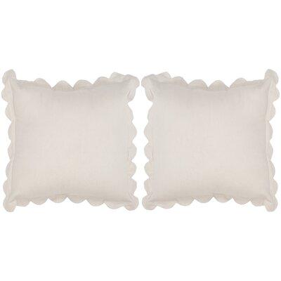 Pinafore Cotton Throw Pillow by Safavieh