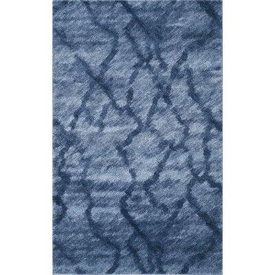 Safavieh Retro Blue & Dark Blue Area Rug