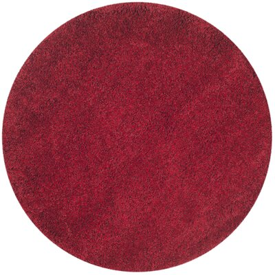 Safavieh California Shag Red Area Rug SG151 4040